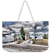 Spring Mud Skiing Weekender Tote Bag