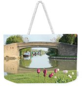 Spring On The Oxford Canal Weekender Tote Bag