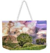 Spring Storm In Tuscany Weekender Tote Bag