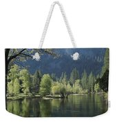 Spring View Of The Merced River Weekender Tote Bag