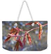 Springtime Japanese Maple Leaves Weekender Tote Bag
