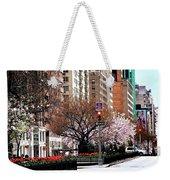 Springtime On Park Avenue Weekender Tote Bag
