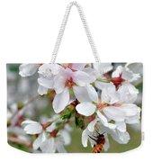 Springtime Weeping Cherry Tree Weekender Tote Bag