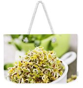 Sprouts In Cups Weekender Tote Bag by Elena Elisseeva