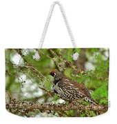 Spruce Grouse Weekender Tote Bag