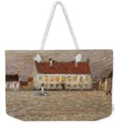 Square - Fort-philippe Weekender Tote Bag by Henri Eugene Augustin Le Sidaner