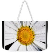 Square Daisy - Close Up 2 Weekender Tote Bag
