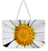Square Daisy - Close Up Weekender Tote Bag