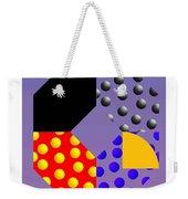 Square Dance Weekender Tote Bag