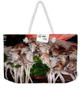 Squid For Sale Weekender Tote Bag