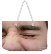 Squinting Eyes Weekender Tote Bag