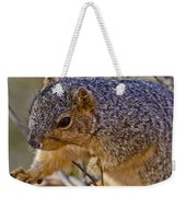 Squirrel Having A Heart Attack Weekender Tote Bag
