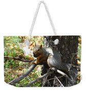 Squirrling Away Weekender Tote Bag