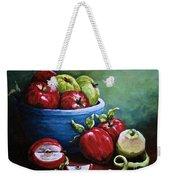 Srb Apple Bowl Weekender Tote Bag