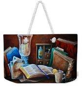 Srb Candlelit Library Weekender Tote Bag