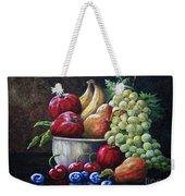 Srb Fruit Bowl Weekender Tote Bag