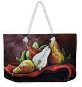 Srb Pears Weekender Tote Bag