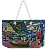 Ss In The Shop Hdr Weekender Tote Bag