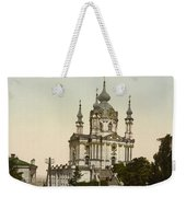 St Andrews Church In Kiev - Ukraine  Weekender Tote Bag