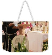 St. Catherine Church Mass Weekender Tote Bag