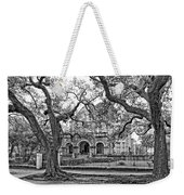 St. Charles Ave. Mansion Monochrome Weekender Tote Bag