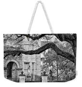 St. Charles Ave. Monochrome Weekender Tote Bag