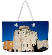 St. Donatus Church In Zadar Weekender Tote Bag