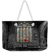 St Dyfnog Window Weekender Tote Bag
