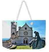 St Francis Basilica   Assisi Italy Weekender Tote Bag