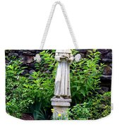 St Francis In The Garden Weekender Tote Bag