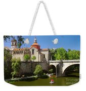 St Goncalo Cathedral Weekender Tote Bag by Carlos Caetano