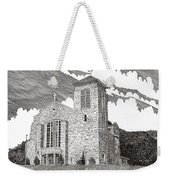 St. Joseph Apache Cathedral Weekender Tote Bag