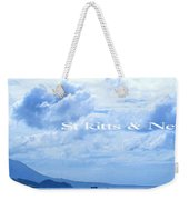 St Kitts And Nevis Poster Weekender Tote Bag