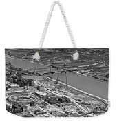 St. Louis Arch Construction Weekender Tote Bag