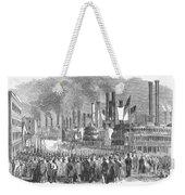 St. Louis: Steamboats, 1857 Weekender Tote Bag