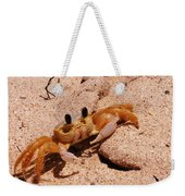St. Lucia Crab On Beach Weekender Tote Bag