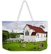 St. Luke's Church In Placentia Newfoundland Weekender Tote Bag by Elena Elisseeva