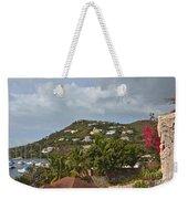 St Maarten Rooftops Weekender Tote Bag
