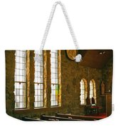 St Malo Church Weekender Tote Bag