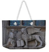 St. Marco And The Lion Weekender Tote Bag