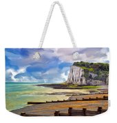 St. Margaret's Bay At Dover Weekender Tote Bag