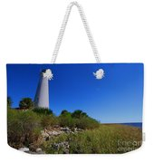 St Marks Lighthouse Along The Gulf Coastst Weekender Tote Bag