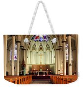 St. Mary's Basilica Halifax Weekender Tote Bag by Kristin Elmquist