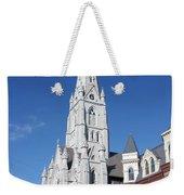 St. Mary's Basilica Weekender Tote Bag by Kristin Elmquist