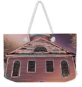 St. Mary's Episcopal Church In Pastel Weekender Tote Bag
