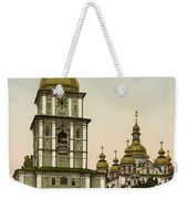 St Michaels Monastery In Kiev - Ukraine Weekender Tote Bag