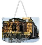 St Modwen's Church - Burton - In The Snow Weekender Tote Bag