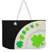 St. Patrick's Day Plate Weekender Tote Bag
