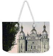 St Paul And St Peter Cathedrals In Kiev - Ukraine - Ca 1900 Weekender Tote Bag