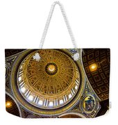 St Peter's Basilica Dome  Weekender Tote Bag
